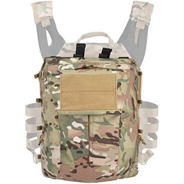 Will Outdoor Airsoft Tactical Vest 2 Airsoft Tactical JPC2.0 Amphibious Combat Multicam Protective Vest with 2.0 Large Capacity Outdoor Expansion Kit