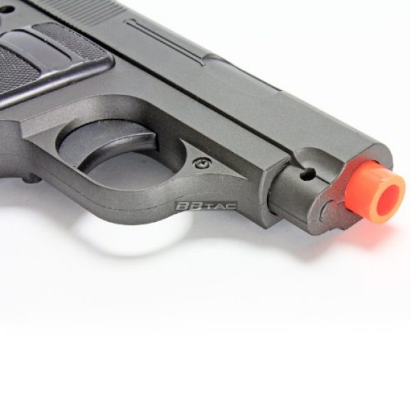 BBTac Airsoft Pistol 6 bbtac g1 airsoft full metal slide and body ultra subcompact 6-inch pocket pistol 215 fps gun(Airsoft Gun)