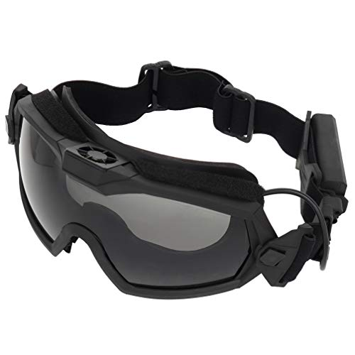 Simways Airsoft Goggle 2 Simways Airsoft Anti Fog Goggles with Fan Clear and Tinted Lens for Tactial Ski Riding Snowboard