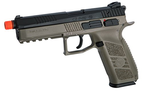 ASG Airsoft Pistol 1 ASG CZ P-09 Gas Powered Airsoft Pistol with Outer Barrel Threading