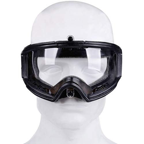 BESPORTBLE Airsoft Goggle 2 BESPORTBLE Safety Goggle Glasses CS Game Protective Glasses Outdoor Sports Ski Riding Eyewear Eye Protection Goggles for Airsoft Paintball (Black Style)