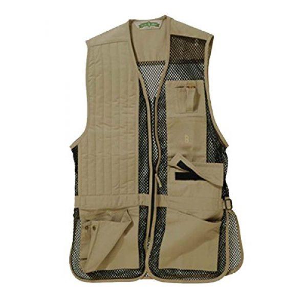 Bob-Allen Airsoft Tactical Vest 1 Bob Allen Full Mesh Vest-240M-Khaki-Right Handed