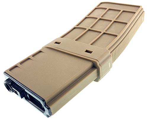 SportPro  6 SportPro CYMA 450 Round Polymer Thermold Waffle High Capacity Magazine for AEG M4 M16 Airsoft - Tan