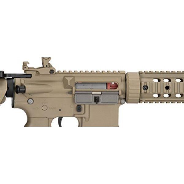 Lancer Tactical Airsoft Rifle 7 Lancer Tactical M4 Gen 2 AEG Electric Airsoft Rifle Gun - Tan
