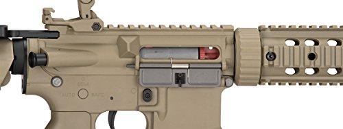 Lancer Tactical  7 Lancer Tactical M4 Gen 2 AEG Electric Airsoft Rifle Gun - Tan