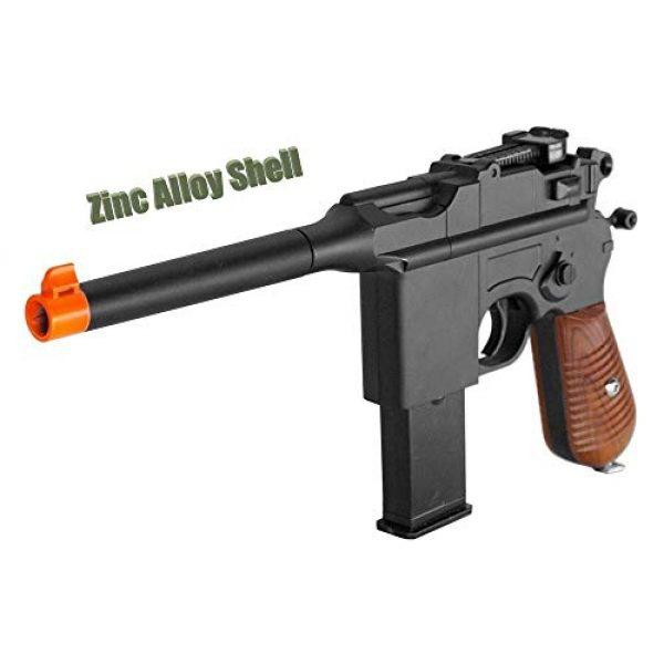 GALAXY Airsoft Pistol 2 WW2 Mauser Broomhandle c96 German Airsoft Spring Hand Gun Pistol