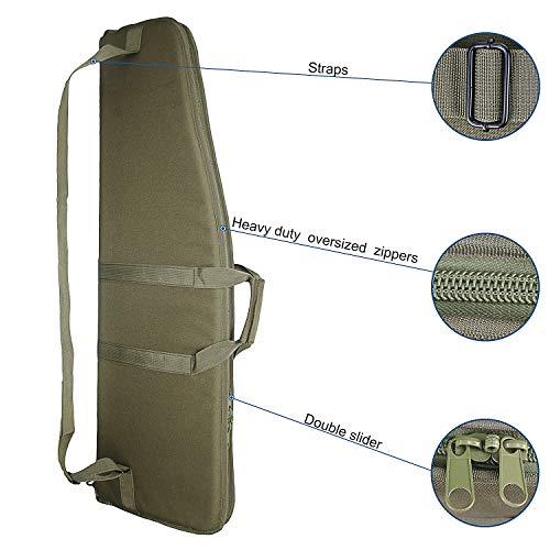 paladins Airsoft Gun Case 2 paladins 38 inch Single Rifle Soft Cases with Foam Padding