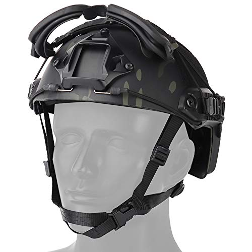 Sunnystacticalgear Airsoft Goggle 3 Sunnystacticalgear Outdoor Paintball Shooting Face Protection Gear Tactical Fast Helmet Wing Rail Side Rail Clip Buckle Mount Helmet Goggles