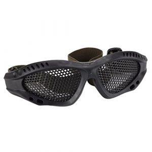Livoty Airsoft Goggle 1 Livoty Safety Glasses Goggles Anti-explosion Outdoor Protective Eyewear For Nerf Game (Black)