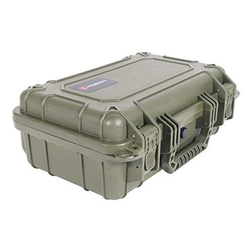 "Condition 1 Airsoft Gun Case 2 Condition 1 13"" Waterproof Protective Hard Case with Foam"