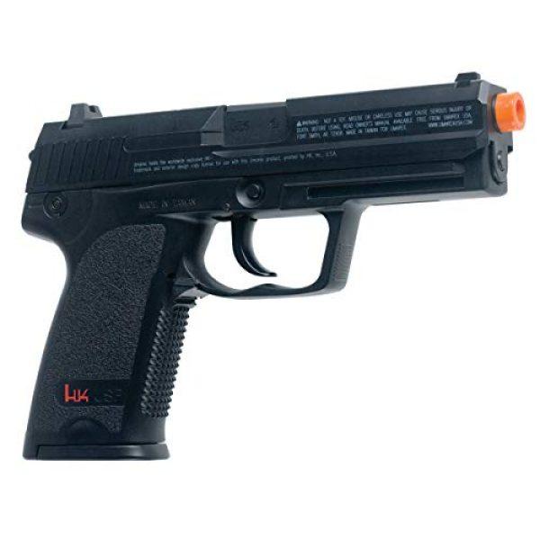 Elite Force Airsoft Pistol 4 HK Heckler & Koch USP 6mm BB Pistol Airsoft Gun, Standard Action, Black