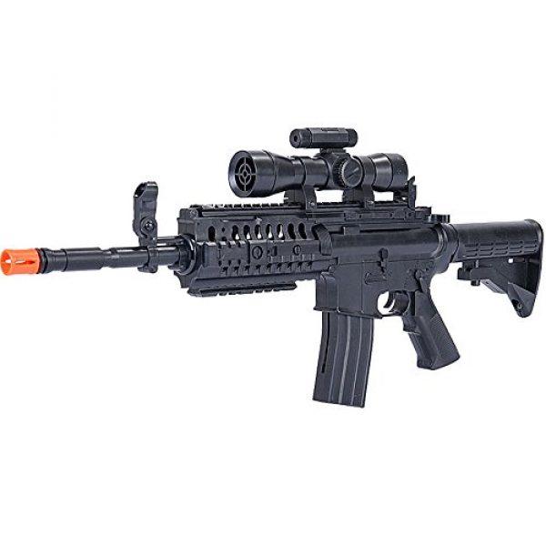 UKARMS Airsoft Rifle 3 UKArms M4 A1 M16 TACTICAL ASSAULT SPRING AIRSOFT RIFLE PELLET SNIPER GUN 6mm BB BBs Air