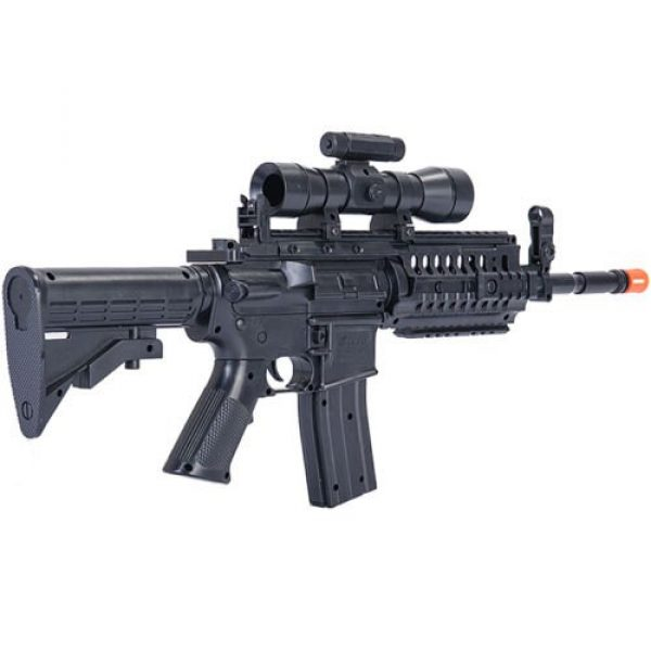 UKARMS Airsoft Rifle 4 UKArms M4 A1 M16 TACTICAL ASSAULT SPRING AIRSOFT RIFLE PELLET SNIPER GUN 6mm BB BBs Air