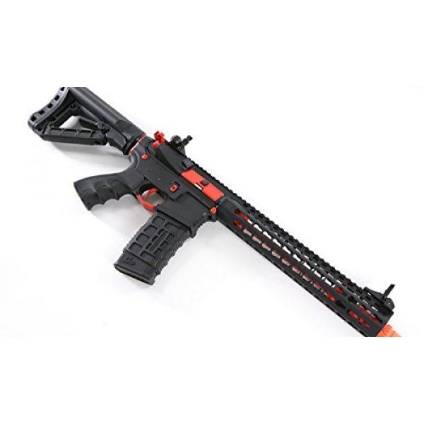 G&G Airsoft Rifle 5 G&G Combat Machine CM16 SRXL 6mm Airsoft AEG Rifle w/KeyMod & MOSFET, Red Edition