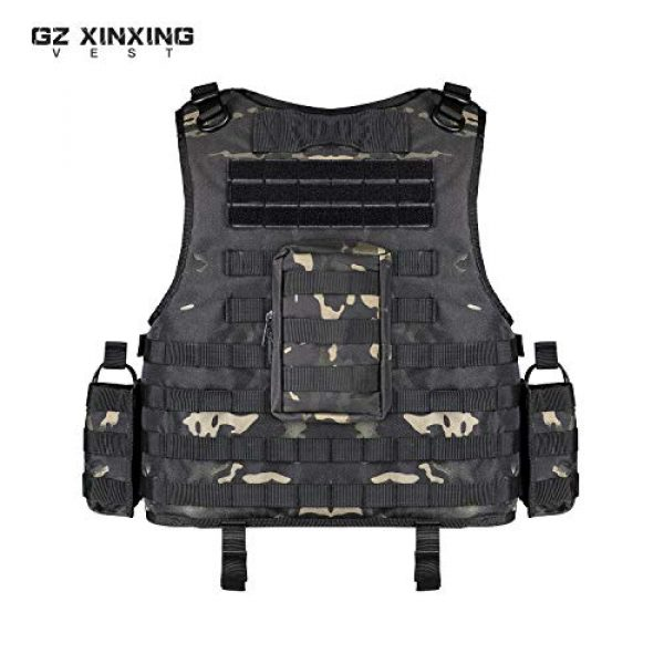 GZ XINXING Airsoft Tactical Vest 4 GZ XINXING Tactical Airsoft Paintball Vest