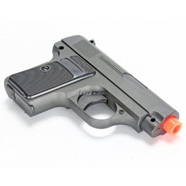 BBTac Airsoft Pistol 4 bbtac g1 airsoft full metal slide and body ultra subcompact 6-inch pocket pistol 215 fps gun(Airsoft Gun)