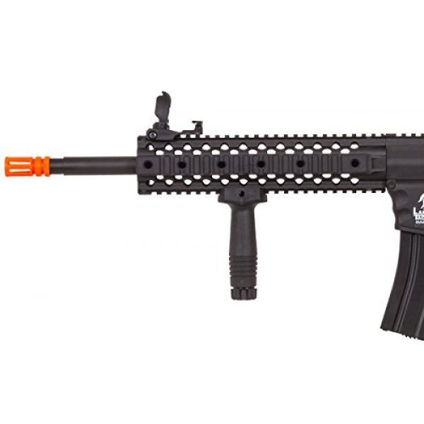 Lancer Tactical Airsoft Rifle 4 Lancer Tactical LT-12B-G2 Gen 2 RIS M4 Carbine AEG Airsoft Rifle (Black)