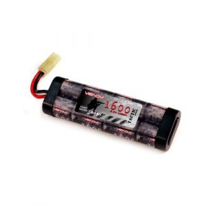 Venom Power Airsoft Battery 1 Venom 9.6v 1600mAh 8 Cell Stick Flat NiMH Battery Pack for Airsoft Tamiya