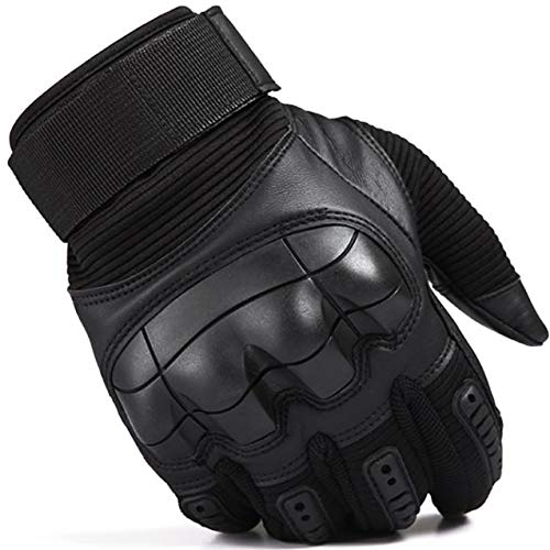 SHAWINGO Airsoft Glove 6 SHAWINGO Touch Screen Tactical Army Military Rubber Hard Knuckle Gloves for Motorcycle Cycling Hunting Airsoft Paintball Shooting