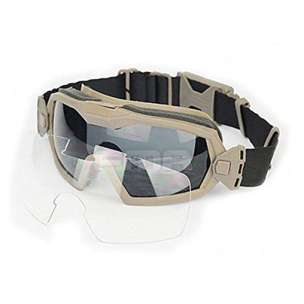 ATAIRSOFT Airsoft Goggle 1 ATAIRSOFT Fan Version Cooler Airsoft Glass Regulator Goggles Ski Snowboard Bike Sports