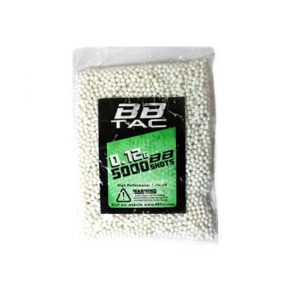 BBTac Airsoft BB 4 BBTac Airsoft BBs .12g Ammo 6mm (20,000 Round Bag, Multi Colors)