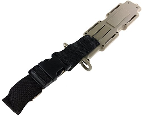 SportPro Airsoft Tool 4 SportPro Rubber Combat Knife M9 Style for Training Airsoft Dark Earth