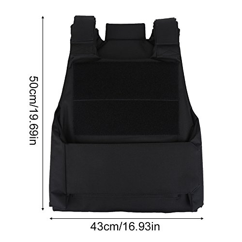 Vbestlife Airsoft Tactical Vest 7 Tactical CS Field Vest Outdoor Tactical Vest Hunting Security Guard Waistcoat CS Field Combat Training Protective Vest for Adult Airsoft Games Boys Costumes