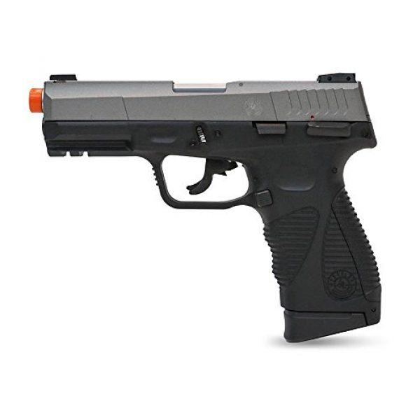Taurus Airsoft Pistol 1 Taurus Soft Air 24/7 G2 Co2 Blowback Two Tone Airsoft Pistol, Black/Silver