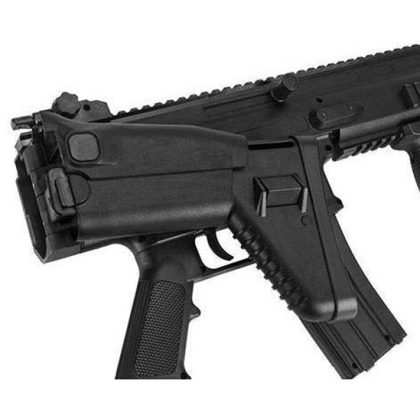 FN Airsoft Rifle 3 FN Scar-L Spring Powered Airsoft Rifle, Black, 400 FPS