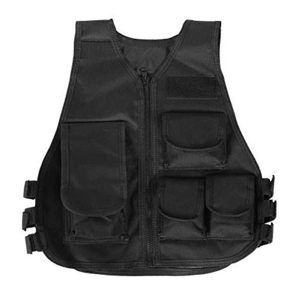 VGEBY Airsoft Tactical Vest 1 Tactical Vest, Adjustable Breathable Lightweight Combat Training Vest Outdoor Hunting, Fishing, Army Fans, CS War Game, Survival Game, Combat Training