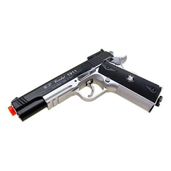 WG Airsoft Pistol 2 500 FPS NEW WG AIRSOFT FULL METAL M 1911 GAS CO2 HAND GUN PISTOL w/ 6mm BB BBs