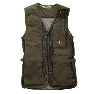 Bob-Allen Airsoft Tactical Vest 1 Bob-Allen 30197 240M Shooting Vest, Right Handed, Sage, Large