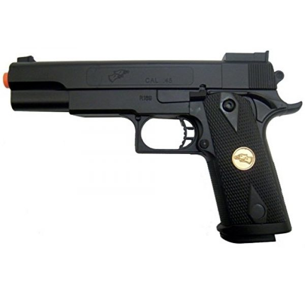 BBTac Airsoft Pistol 1 BBTac p169 Spring Airsoft Gun Pistol 260 fps(Airsoft Gun)
