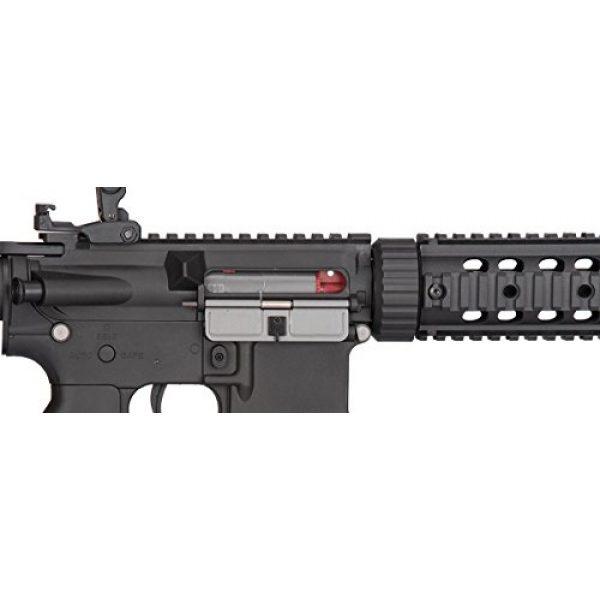 Lancer Tactical Airsoft Rifle 7 Lancer Tactical Low FPS M4 Gen 2 AEG Electric Airsoft Rifle Gun - Black