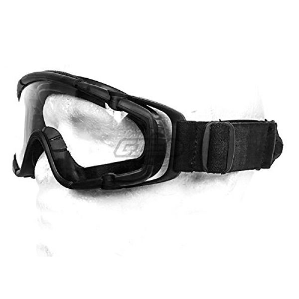Emerson Airsoft Goggle 1 Emerson SI Ballistic Goggles For Helmet w/ Fan Version (BLK)