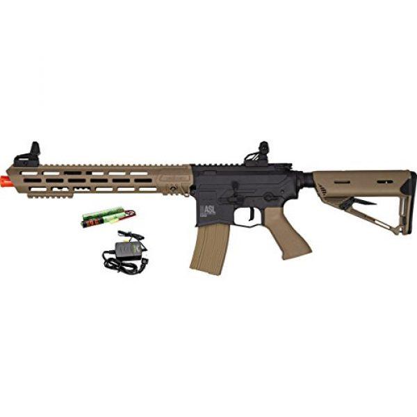 Valken Airsoft Rifle 1 Valken ASL TANGO M4 6mm Airsoft Rifle Tan/Black w/Battery & Charger