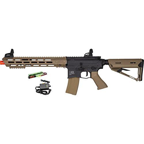 Valken  1 Valken ASL TANGO M4 6mm Airsoft Rifle Tan/Black w/Battery & Charger