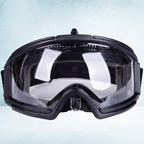 BESPORTBLE Airsoft Goggle 7 BESPORTBLE Protective Safety Goggle Anti-Fog Anti-Spitting Anti-Saliva Goggles Eyewear Eyeshield Safety Glasses -Black