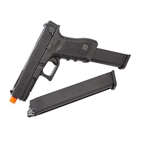 Elite Force Airsoft Pistol 5 Elite Force Glock 18C Gen3 GBB Blowback 6mm BB Pistol Airsoft Gun, Black