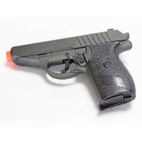 BBTac Airsoft Pistol 4 BBTac ZM02 Spring Pistol Metal Body and Slide Sub-Compact Pocket 220 FPS Concealable Airsoft Gun