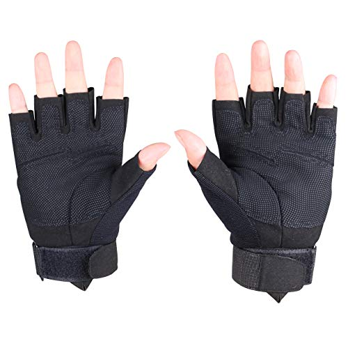 ThreeH Airsoft Glove 6 ThreeH Sports Gloves Half Fingers Wear Rsistant Sports Gloves GL06