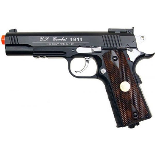 WG Airsoft Pistol 1 500 fps new full metal wg airsoft m 1911 gas co2 hand gun pistol w/ 6mm bb bbs(Airsoft Gun)