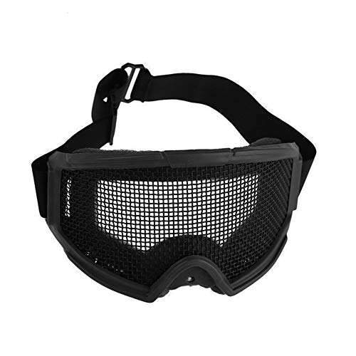 Sunny Airsoft Goggle 1 Outdoor Sports Airsoft Hunting Protention Gear Tactical Shooting Metal Steel Wire Mesh Goggles
