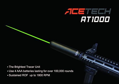 ACETECH Airsoft Barrel 7 ACETECH Airsoft Gun 14mm AT1000 Tactical Tracer Unit Glow in Dark