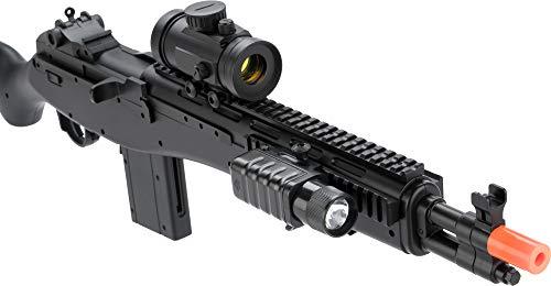 Evike  3 Double Eagle M14 Socom RIS Carbine Spring Airsoft Gun (Black)