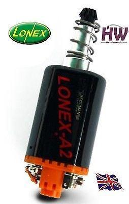 LONEX Airsoft Tool 1 Lonex Airsoft AEG Motor HIGH Torque A2 Orange ASG Long M170 160 140 M120 M4 V2 @ Helmet World