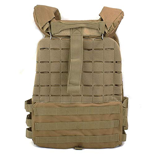 ActionUnion Airsoft Tactical Vest 7 ActionUnion Tactical Vest Molle CS Field Vests Outdoor Adjustable Lightweight Breathable Airsoft Paintball Hunting Shooting Adults 900D Oxford
