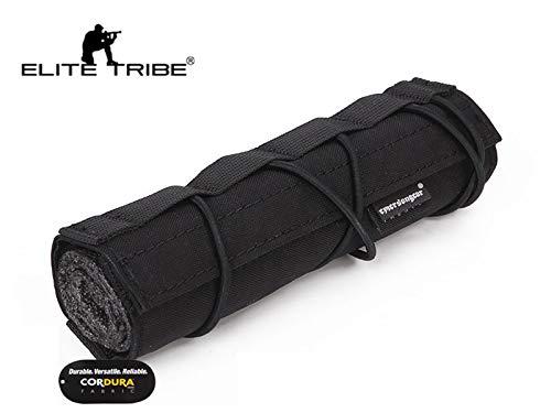 Elite Tribe Airsoft Tool 2 Elite Tribe Airsoft Tactical Rifle Suppressor Cover 18cm Quick Release