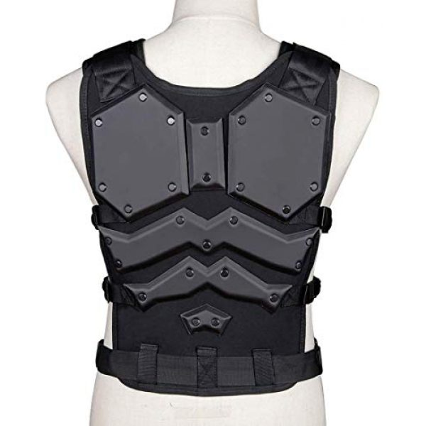 Tactical Area Airsoft Tactical Vest 4 Tactical Area Military Airsoft Paintball Vest King Kong Vest Outdoor Camping War Game Vest