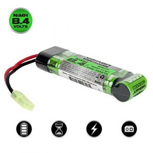 Valken Airsoft Battery 1 Valken Airsoft Battery - NiMH 8.4v 1600mAh Mini Brick Style